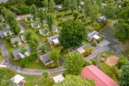 Shooting et Prises de vues aériennes d'un camping